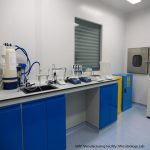 GMP Manufacturing Facility_Microbiology Lab_label